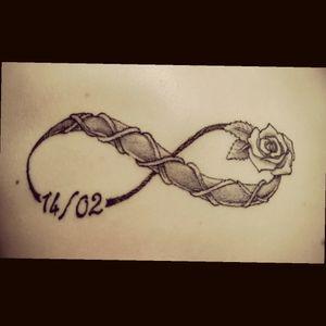 #infinity  #infinitytattoo #rose