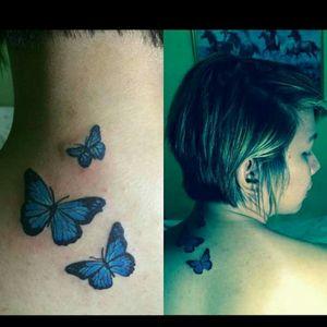 #butterfly #cutetattoos #feminine #ronielletattoo