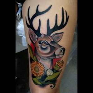 I would love to see what Megan can do with her talent with color on a deer tattoo. #megandreamtattoo