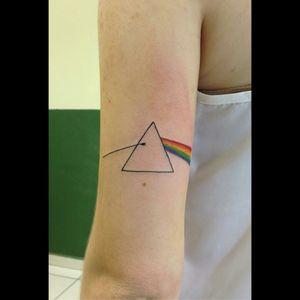 Pink Floyd's Dark Side Of The Moon #pinkfloyd #darksideofthemoon #rock #albumcover