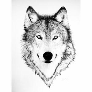 #wolf #wolftattoo #tattoo #beautiful