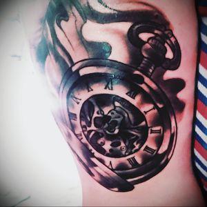 #tattoo #ink #pocketwatchtattoo #tattooart
