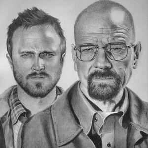 Mas um terminado. #JessePinkman #breakingbad #heisenberg #walterwhite