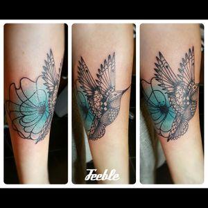 #feebleink #tattoo #feebletattoo #tattoist #medusastore #medusatours #girlwithtattoo #birdtattoo