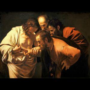 #megandreamtattoo The Incredulity of Saint Thomas (Caravaggio)