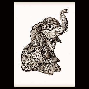 #elephant #mandala