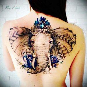 Beautiful Elephant with Megans added talent = Dream tattoo #megandreamtattoo