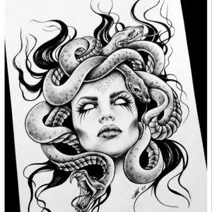 Medusa 🐍 #megandreamtattoo
