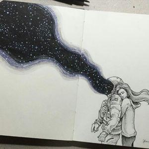 Get lost.... #space #getlost #nightsky #imagination