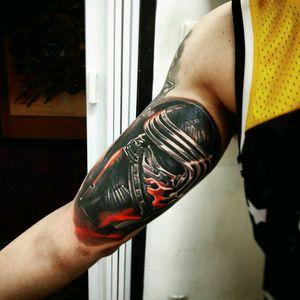 Tattoo Star Wars by brazilian artist @dallier #starwars #KyloRen #nerd