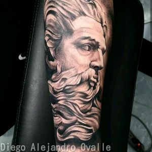 #poseidontattoo #inkmaster #eternalink #tattoo #blacandgrey #diegoalejandroovalle