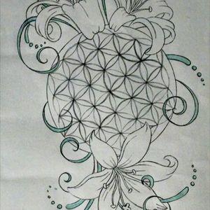 #floweroflife #lily #sacredgeometry