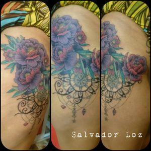 #flowers #color #purple #srcamaleon #Salvadorloz una composición divertida fun ink lml