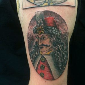 Vlad dracul III or Dracula! Sam Wolf Signature Tattoo