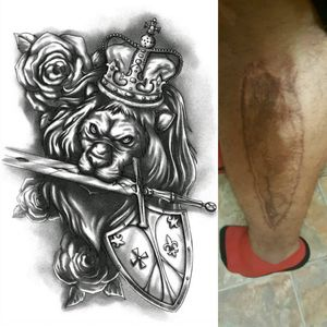 #megandreamtattoo  tattoo design I want on the inside side of my left leg/calf to balance out the large scar I have on the outer portion of my leg