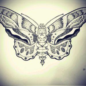 #dottattoos #tattooaddict #buterfly