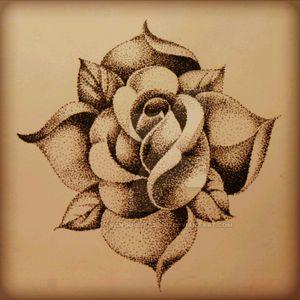 #dottattoos #dottattoo #rosestattoo