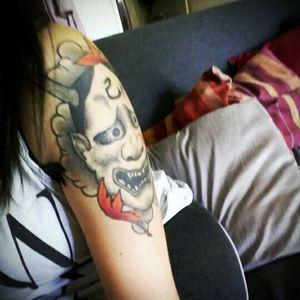 #thisismybody #tattoo #onidemon