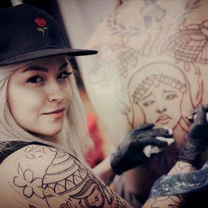 #tattooers #milamantilla #tattooartist #neotraditionalartist