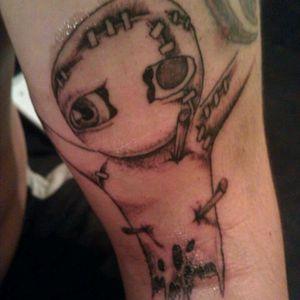 Voodoo doll I drew #voodoo #originalart #inkaholic