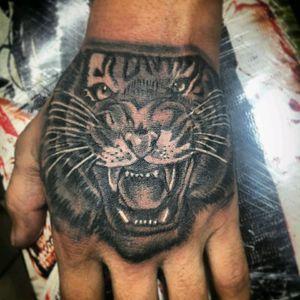 #Tiger #tigertattoo #blacandgrey