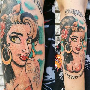 A lil bloody #amywinehouse