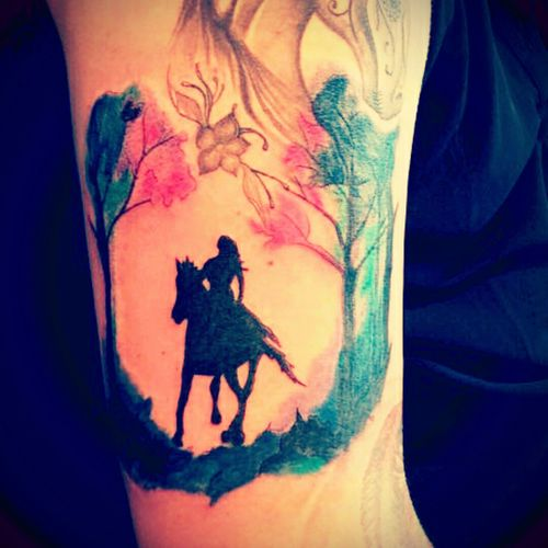 #watercolor #inked #tattoolove #watercolortattoo