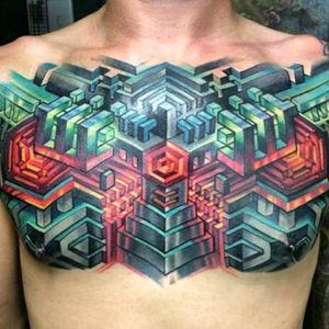 #SacredGeometry #Geometric #3D #FullColor #Awesome  Artist:#MikeCole