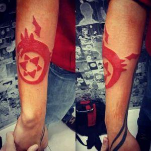 #tattooapprentice #FullametallAlchemist #geek #geekink #geektattoos #CamilaXavier