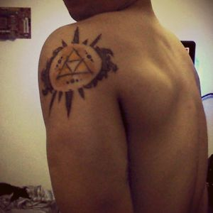 Legend of Zelda, Triforce tattoo! #Triforce #zelda #sketch