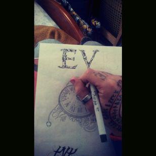 #drawing #lethering #desing #evelin