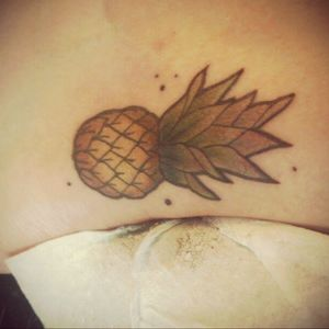 #ananas #fruit #fruittattoo