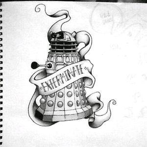 #exterminate #dalek #DoctorWho #dalektattoo #DoctorWhotattoo #mynextattoo