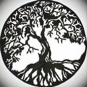 #treeoflife #blackwork