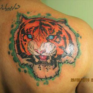 #tiger #tattootiger #tatuadorescolombianos