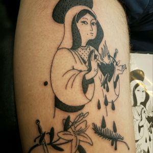 #sacredheart #tattooist #tribalmike #adelaidetattoos #neotat