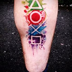 #Gamer #Watercolor