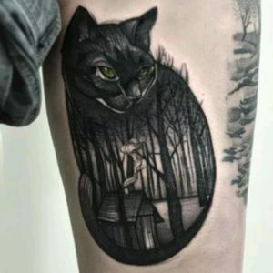 I want something like this,  but with my cat. ❤ #megandreamtattoo