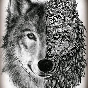 #meganamassacredreamtattoo i would love to get this done. With a splash of colour in the eyes.