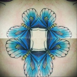 Pra ela muitas cores, obrigada😉 #tattoofeminina #tracosfinos #delicada #tats #tatuaje #flores #borboleta #colors #tattoocolors #blue #encantada #TattooGirl #TatuadoraBrasileira #robertamarela #robertanogueira #worktattoo