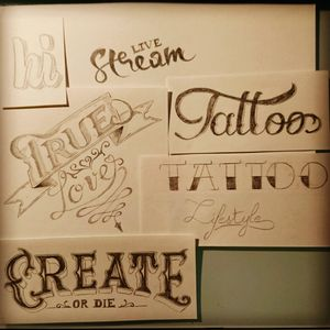 Typo training #typo #typographie #letering #design #entraînement #hand #draw #dessin #lettrage #leteringtattoo #training