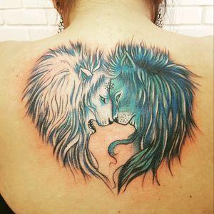 Lion Ying yang!!!