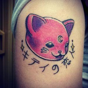Magical kitten 💕🌌 #kawaii #magical #kittycat #pink #cat