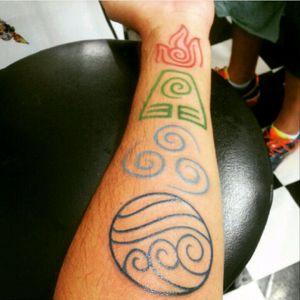 Símbolos do Avatar. #avatar #legendofkorra #aang #simbols #simbolos #agua #ar #terra #fogo #fourelements