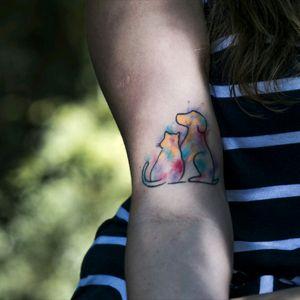 #dogs #cats #t2me #tatto2me #tattoodo #inkedgirls