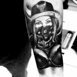 #gangster #blacandgrey #realife #realism #girl