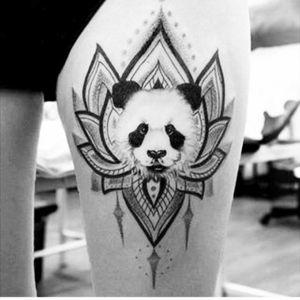 #tatto  #panda