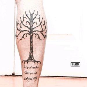 Gondor Tree #tolkien #tolkientattoo  #gondortree  #gondor #tree #Lotr #Nimloth #eldar
