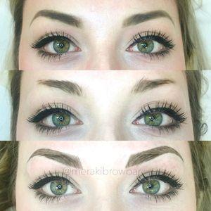 My browzzzzzzzz 💕🤘 #Microblading #eyebrows #vancity #vancouver #microbladedeyebrows