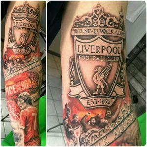 Liverpool fc #yarotattoo #tattoo #realistictattoo #liverpooltattoo #liverpool #lfc #liverpoolfootballclub #